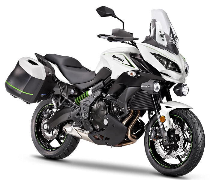 kawasaki versys 650 tourer plus 2018 fiche moto motoplanete. Black Bedroom Furniture Sets. Home Design Ideas