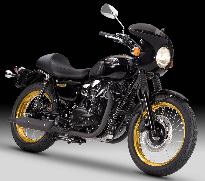 kawasaki w 800 cafe style 2012 fiche moto motoplanete. Black Bedroom Furniture Sets. Home Design Ideas