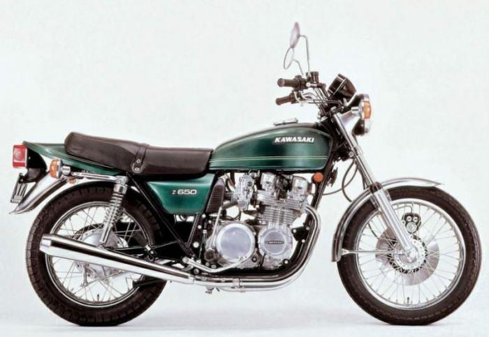 kawasaki z650 1976 fiche moto motoplanete. Black Bedroom Furniture Sets. Home Design Ideas