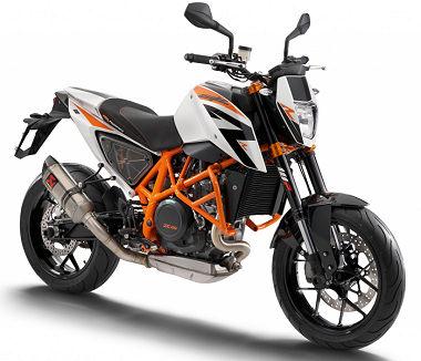 moto KTM 690 DUKE R2014