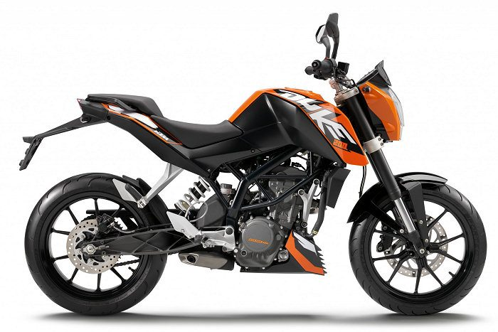 miniature KTM 200 DUKE 2014 - 1
