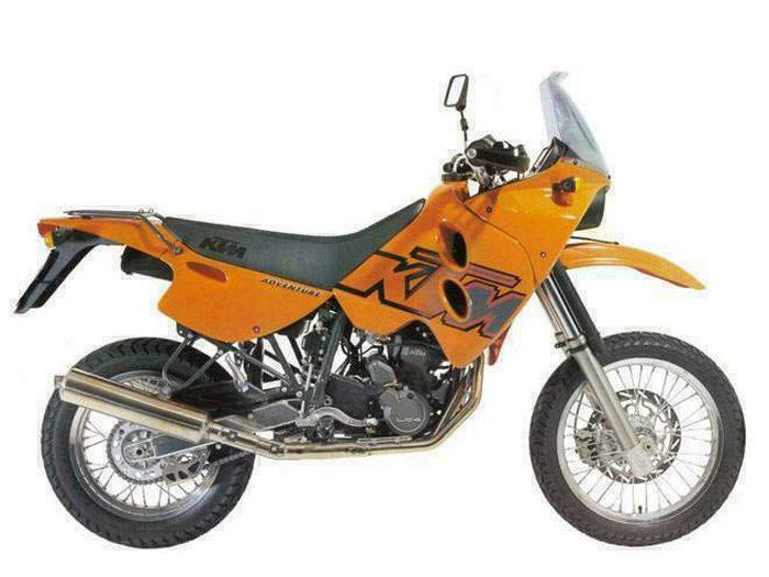 KTM LC4-E 640 ADVENTURE 1997 - 1