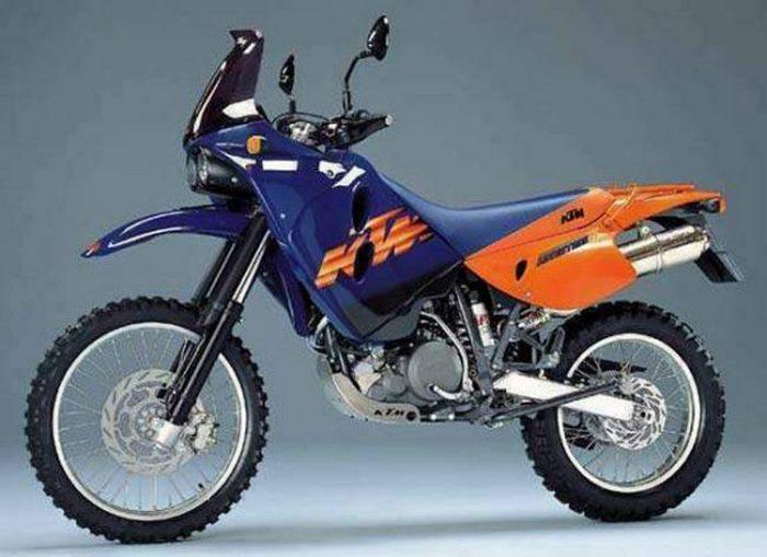 KTM LC4-E 640 ADVENTURE 1997 - 3