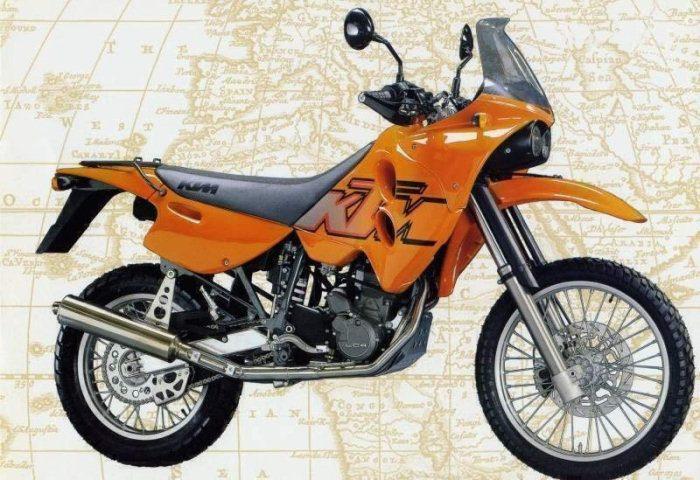 KTM LC4-E 640 ADVENTURE 1997 - 5