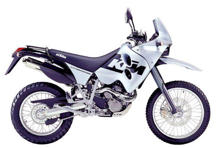 KTM LC4-E 640 ADVENTURE 1997 - 9