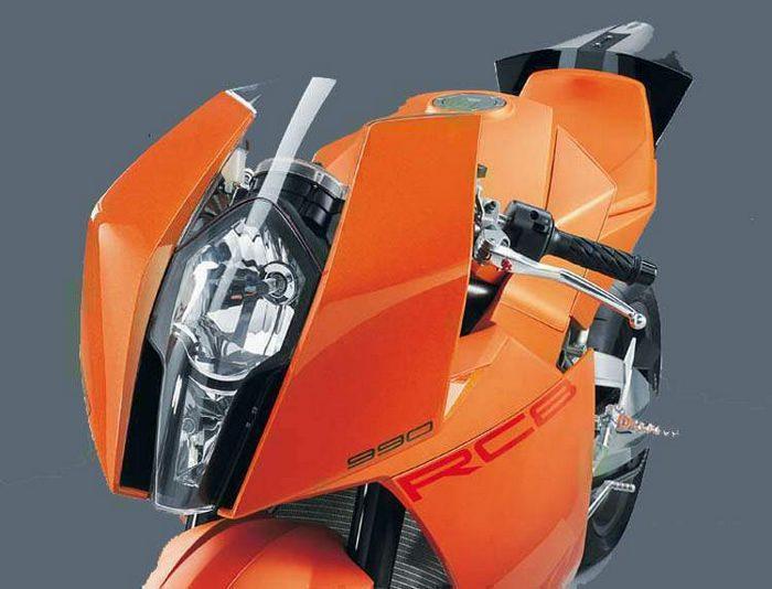 KTM RC8 prototype 2005 - 2