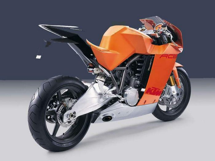 KTM RC8 prototype 2005 - 3