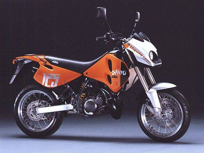 miniature KTM 125 STING DUKE 1998 - 4