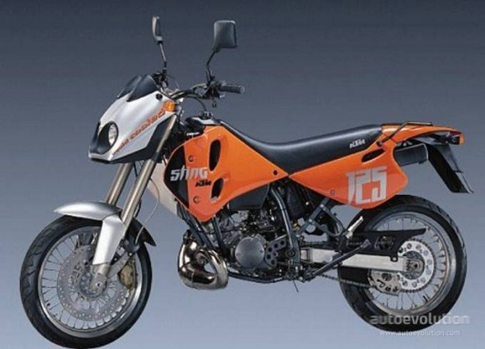 miniature KTM 125 STING DUKE 1998 - 3