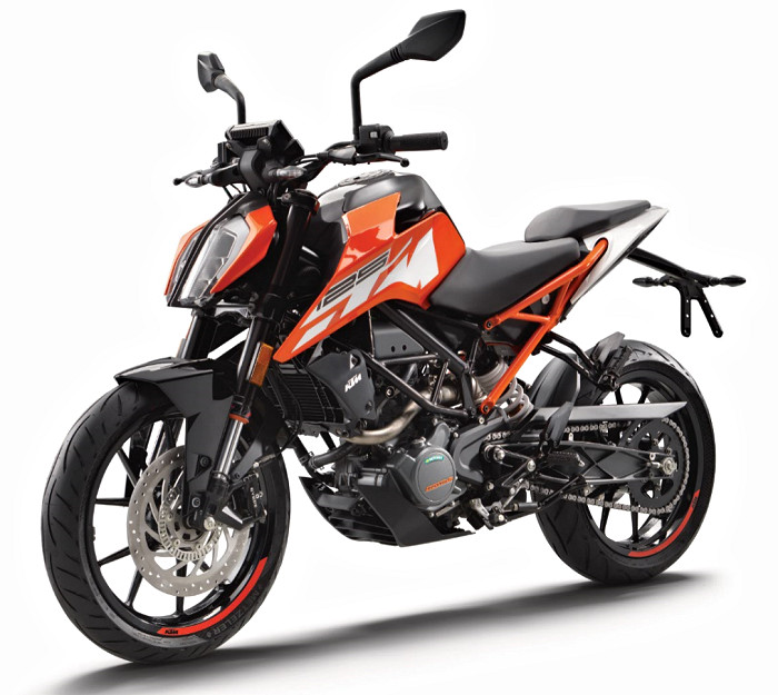 ktm 125 duke 2017 fiche moto motoplanete. Black Bedroom Furniture Sets. Home Design Ideas
