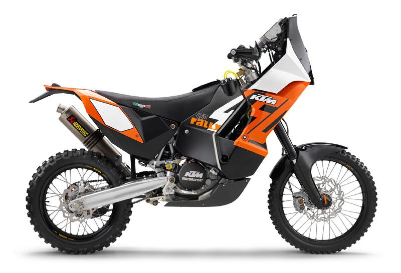 moto honda 450 rally
