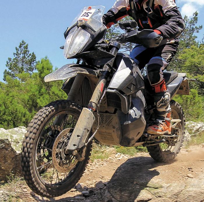 KTM 790 Adventure R prototype