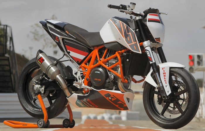 ktm 690 duke track 2012 fiche moto motoplanete. Black Bedroom Furniture Sets. Home Design Ideas