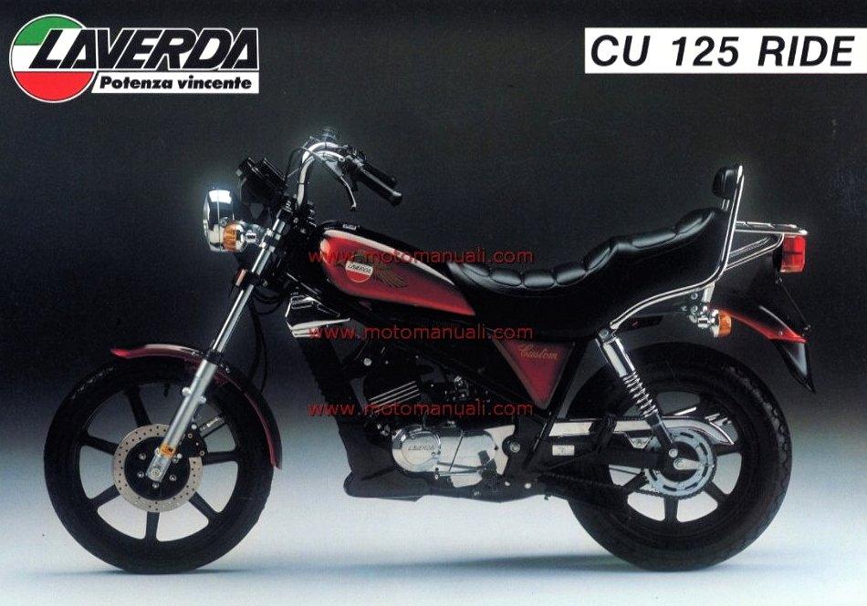 Laverda CU 125 Custom Ride 1985 - 3