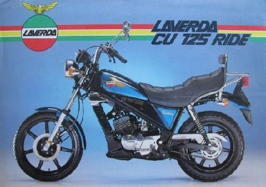 Laverda CU 125 Custom Ride 1985 - 2