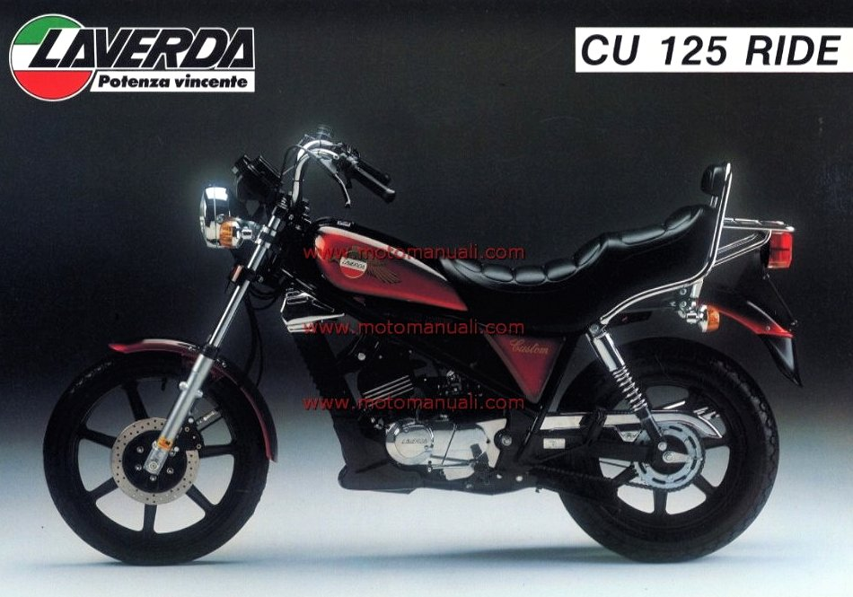Laverda CU 125 Custom Ride 1985 - 1
