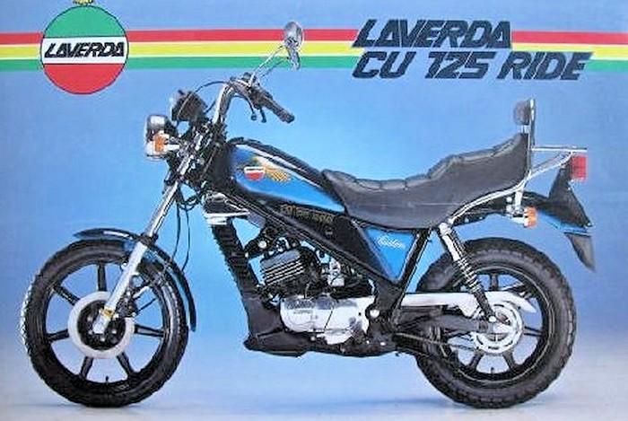 Laverda CU 125 Custom Ride