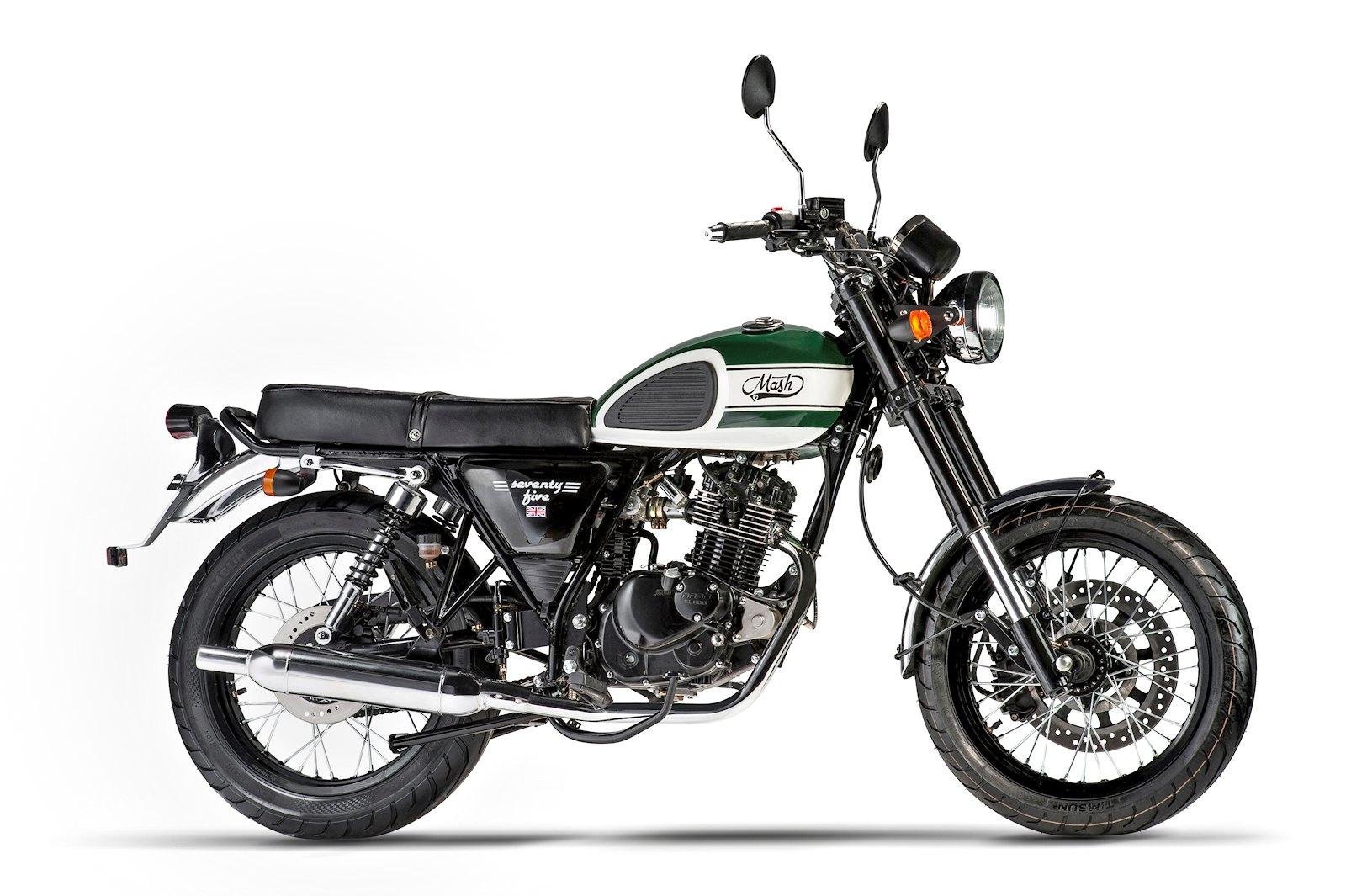 mash 125 seventy five 2016 - galerie moto