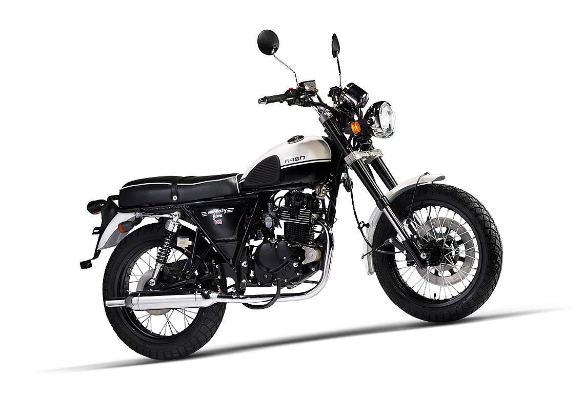mash 125 seventy five vintage 2016 galerie moto motoplanete. Black Bedroom Furniture Sets. Home Design Ideas