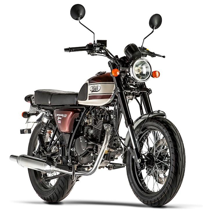 mash 125 seventy five 2017 fiche moto motoplanete. Black Bedroom Furniture Sets. Home Design Ideas