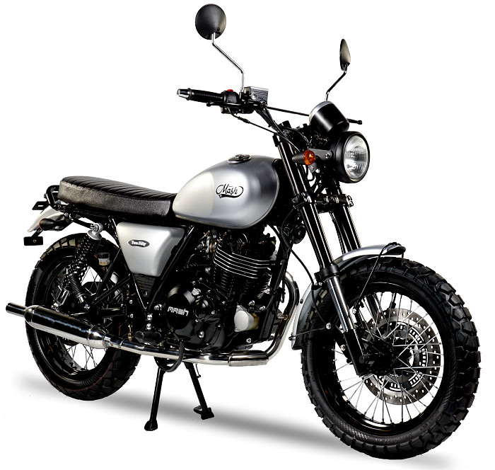 Bonneville And Son >> Mash 250 Two Fifty 2018 - Fiche moto - Motoplanete