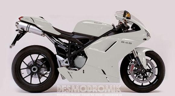 ducati 848 white