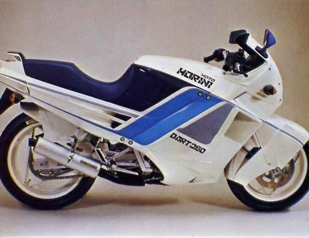 Morini 350 Dart 1988 - 1