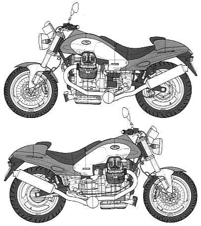 Moto-Guzzi 1000 V10 CENTAURO 1999 - 7