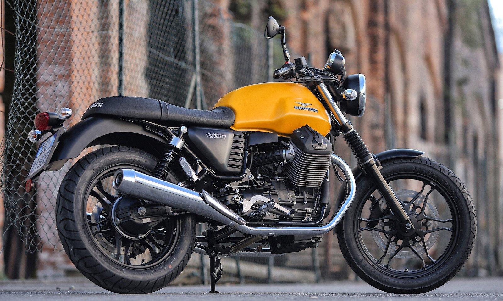 Moto Guzzi V7 II Stornello - Billeder af mc-er - Uploaded