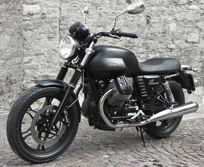 Moto-Guzzi V7 750 Stone 2012 - 4