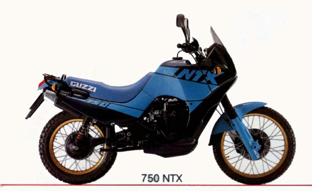 Moto-Guzzi NTX 750 1989 - 2