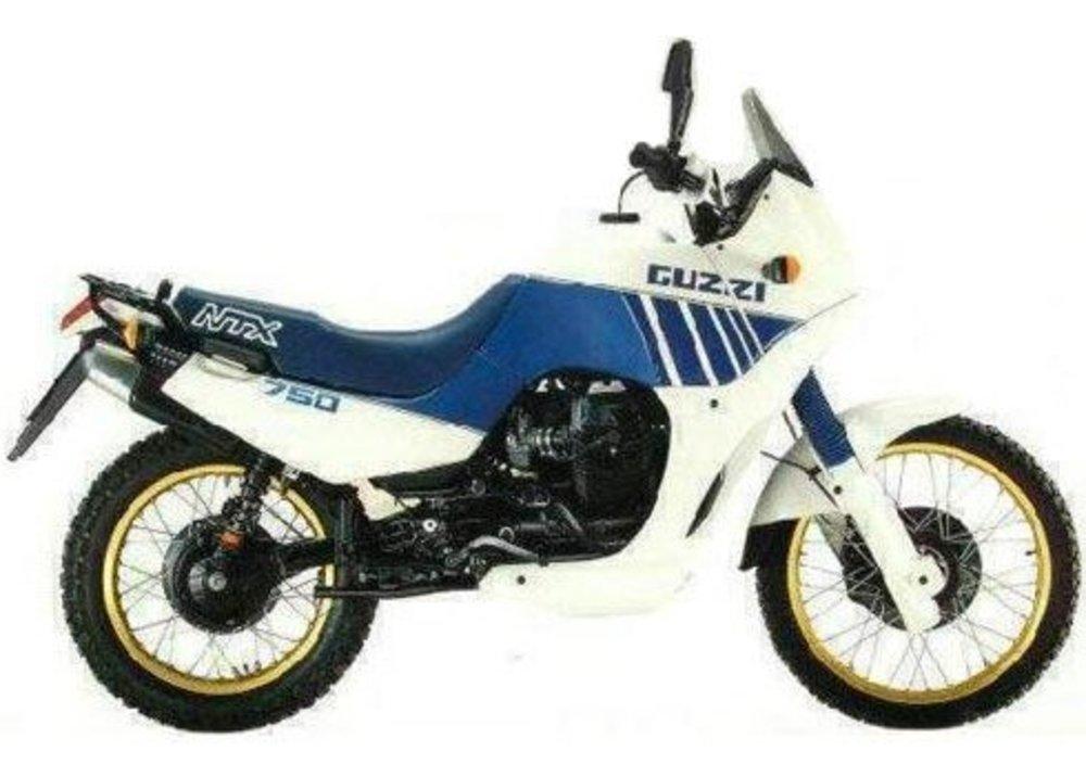 Moto-Guzzi NTX 750 1989 - 1