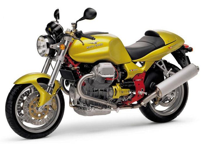 Moto guzzi 1100 v 11 sport 2000 fiche moto motoplanete - Image moto sportive ...