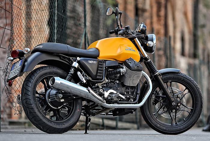 Moto Guzzi V Special Yellow