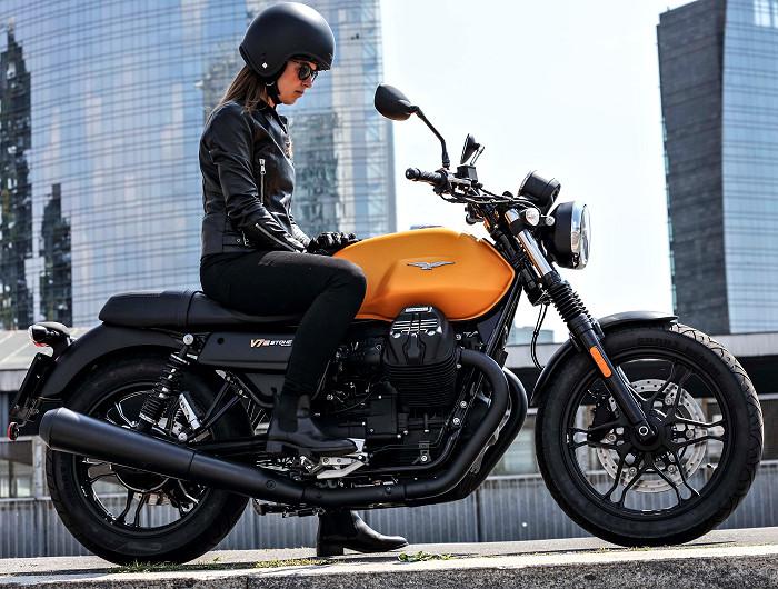 moto guzzi 750 v7 iii stone 2018 fiche moto motoplanete. Black Bedroom Furniture Sets. Home Design Ideas
