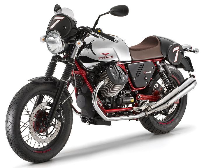 moto guzzi 750 v7 racer 2014 fiche moto motoplanete. Black Bedroom Furniture Sets. Home Design Ideas