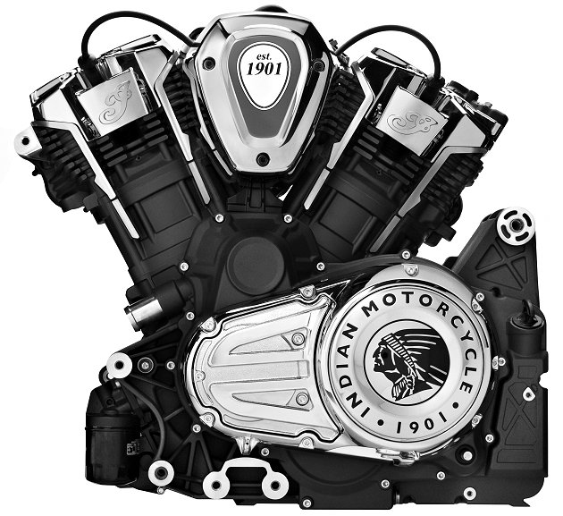 Moteur Indian Powerplus 108 ci / 1769 cm3