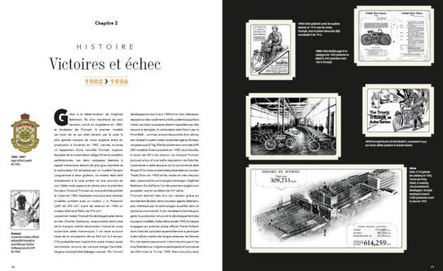 39 triumph 39 un bel ouvrage sur 39 l 39 art motocycliste anglais 39 actualit moto. Black Bedroom Furniture Sets. Home Design Ideas