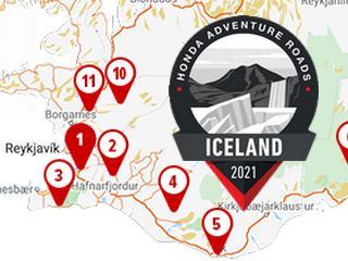 La traversée de l'Islande pour la 3ème édition du raid Honda Adventure Roads.
