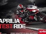Aprilia Test Ride - Chevauchez la RSV4 RF sur piste !