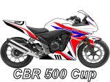 Compétition : lancement de la CBR 500 Cup.