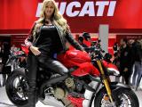 Le Ducati Streetfighter V4 élu 'Plus belle moto' du Salon de Milan 2019.