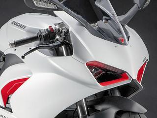 Nouveau coloris 'White Rosso' pour la Ducati Panigale V2.