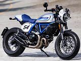 Ducati offre son lot de modifs au Ducati 800 Scrambler Cafe Racer.