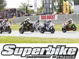 Le championnat de France Superbike se poursuit à Nogaro.