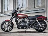 2017 - Légère mise à jour pour la Harley-Davidson 750 Street.