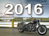 Toute la gamme Harley-Davidson 2016.