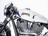 2017 - Hesketh présente la Sonnet, avec un énorme twin de 2163 cm3.