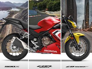 Les Honda CB 500 se mettent à jour pour Euro5.