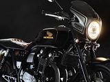 Une Honda CB 1100 BadSeeds édition spéciale Lee.